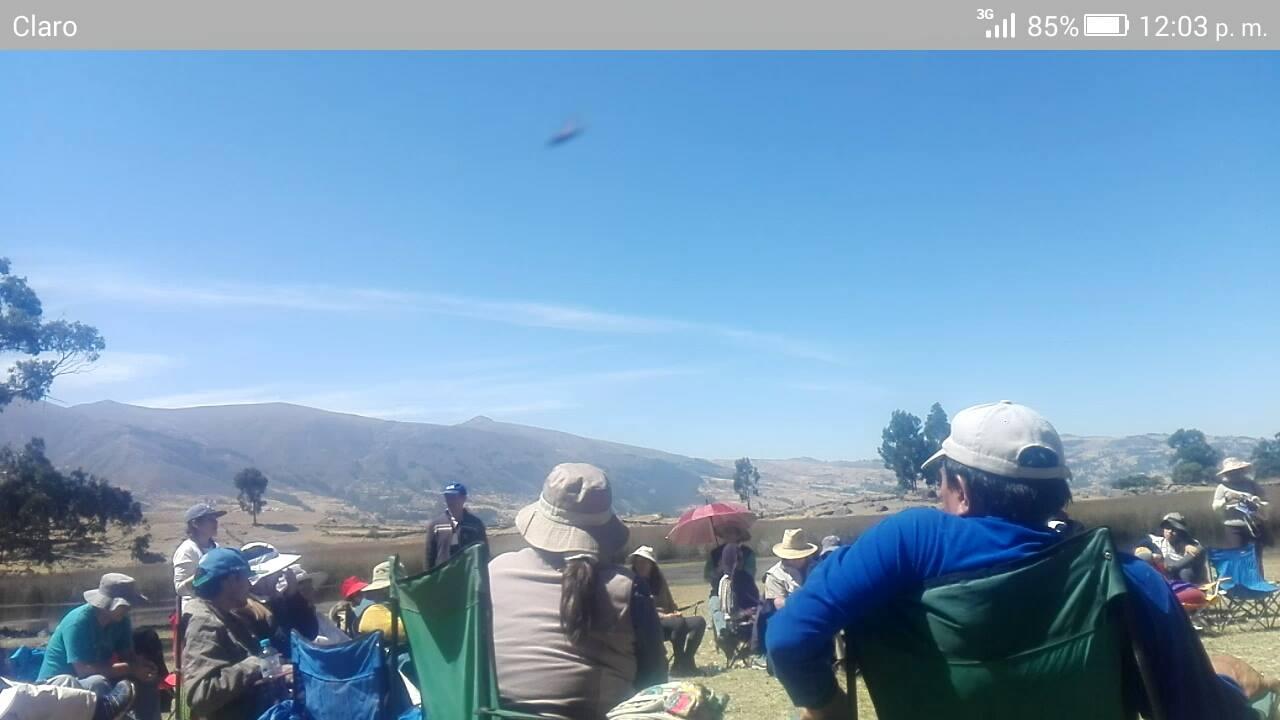 Salida del Encuentro Nacional de Grupos de Contacto en Ayacucho Perú, en Agosto del 2017