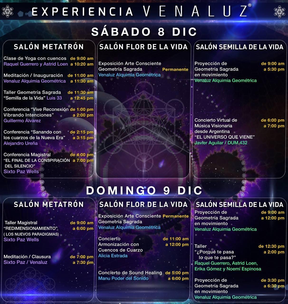 México 8 y 9 de Diciembre