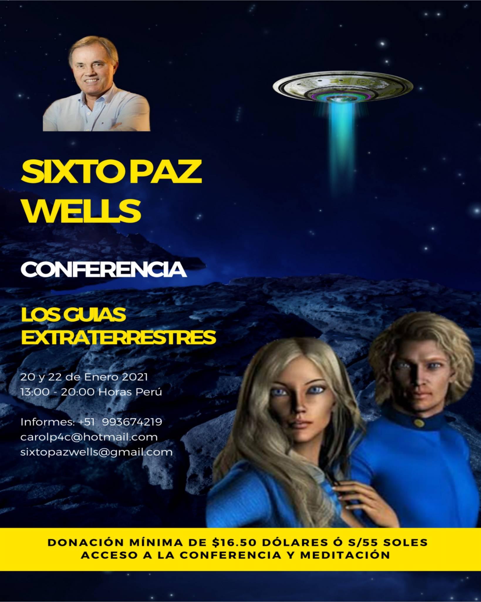 CONFERENCIA – LOS GUIAS EXTRATERRESTRES