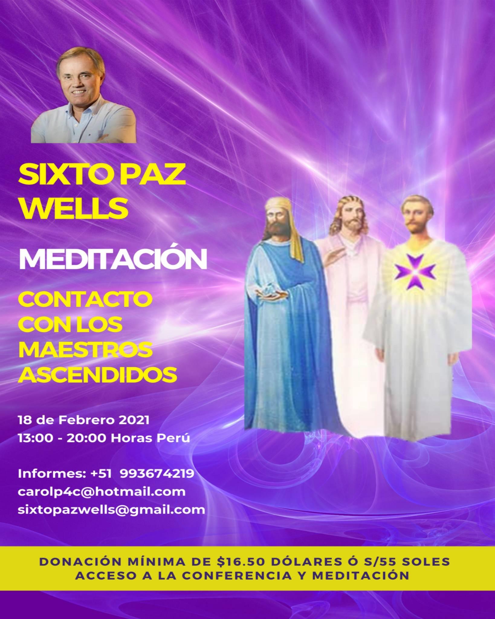 MEDITACIÓN   «LOS MAESTROS ASCENDIDOS»