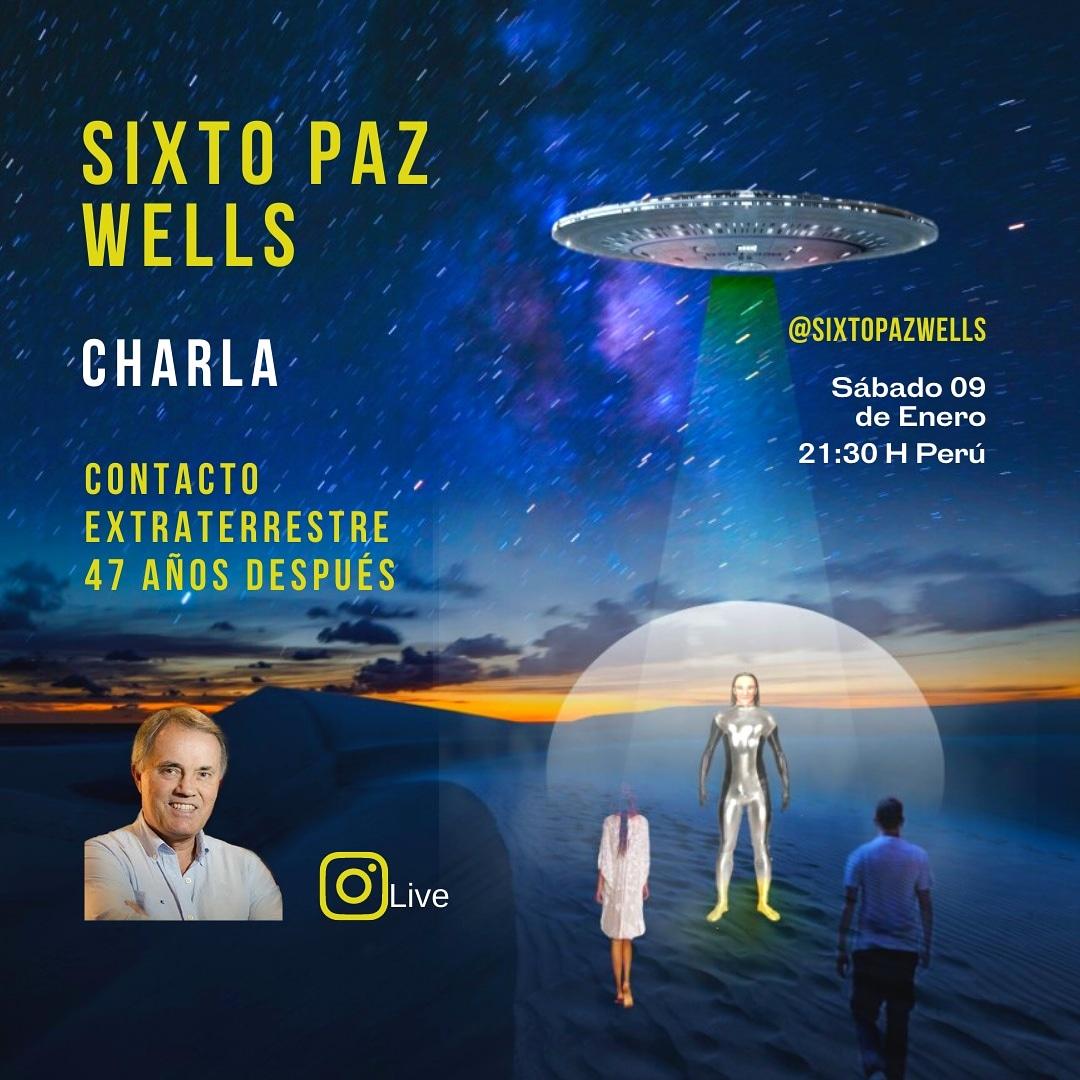 CHARLA  –  «EL CONTACTO EXTRATERRESTRE 47 AÑOS DESPUES»