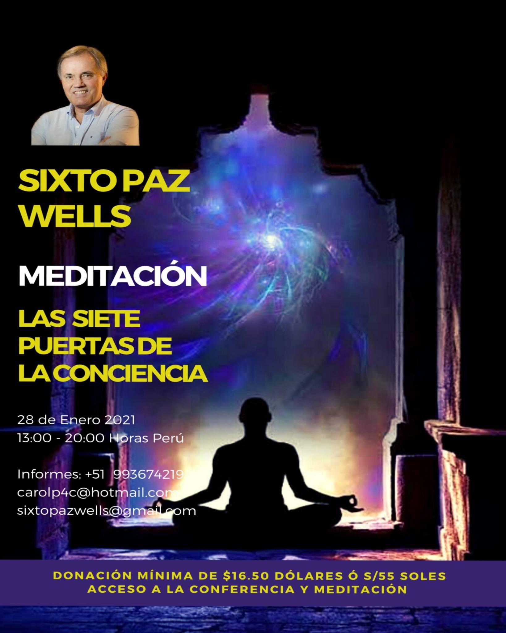 MEDITACIÓN«LAS SIETE PUERTAS DE LA CONCIENCIA»