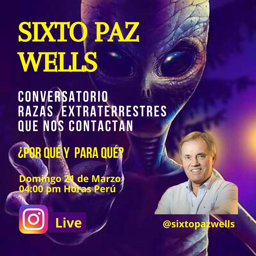 Conversatorio – Razas Extraterrestres que nos contactan ¿Por qué y para qué?