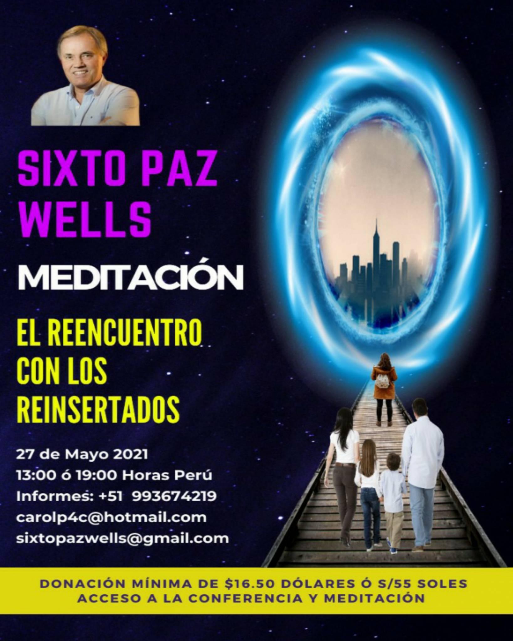 MEDITACIÓN «EL REENCUENTRO CON LOS REINSERTADOS»