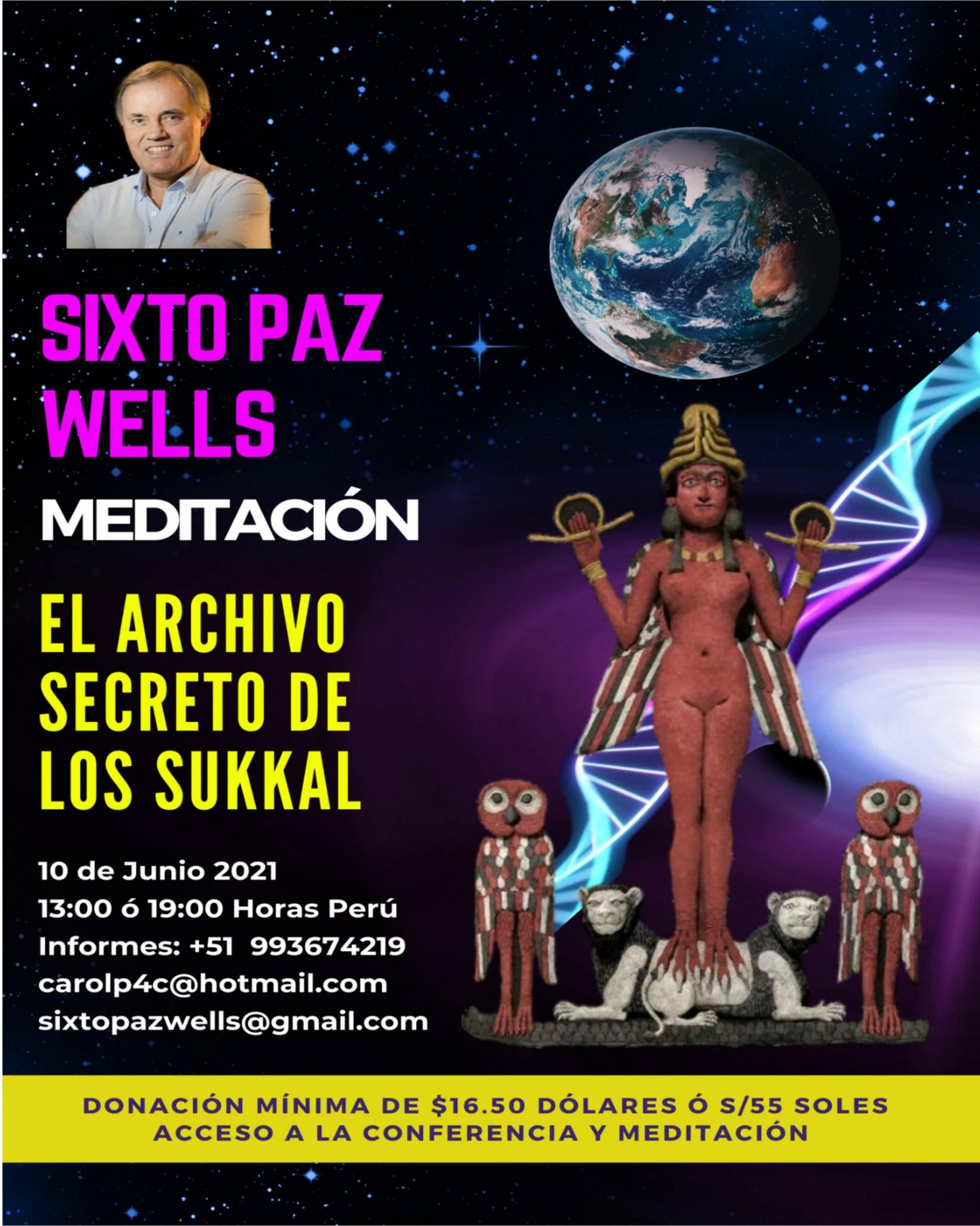 MEDITACIÓN  «EL ARCHIVO SECRETO DE LOS SUKKAL»